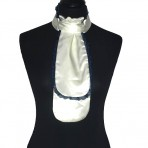 Plastron with blue lace 11