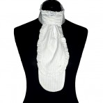 plastron stripe with lace 10
