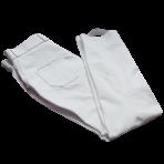 White, silver pocket