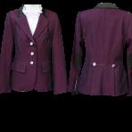 Purple with Zipper