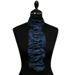 El. Blue/black stripes